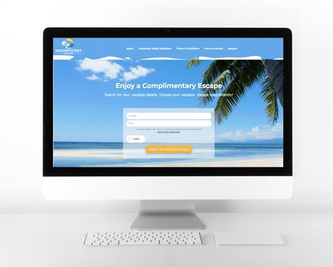Web Design - Magnificent Escapes