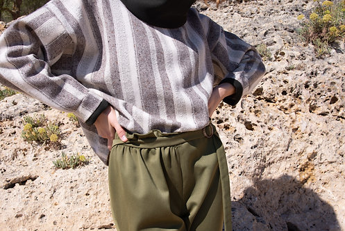 Wakamé trousers