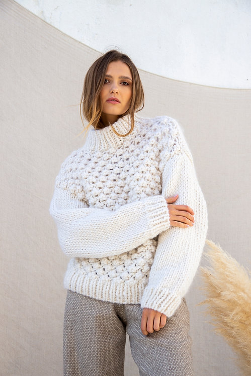 Uva wool | Knit sweater