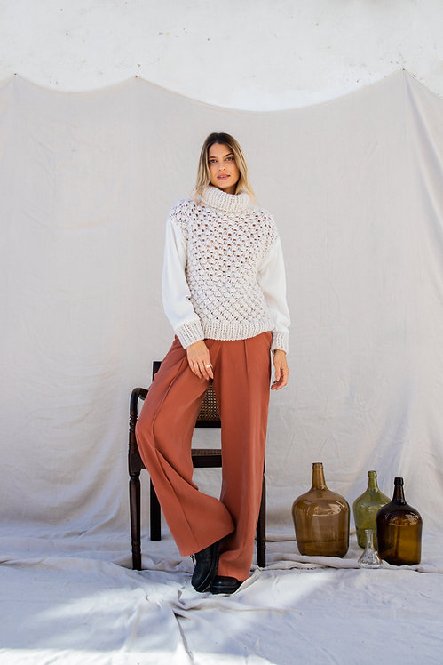 Uva silk | Knit sweater