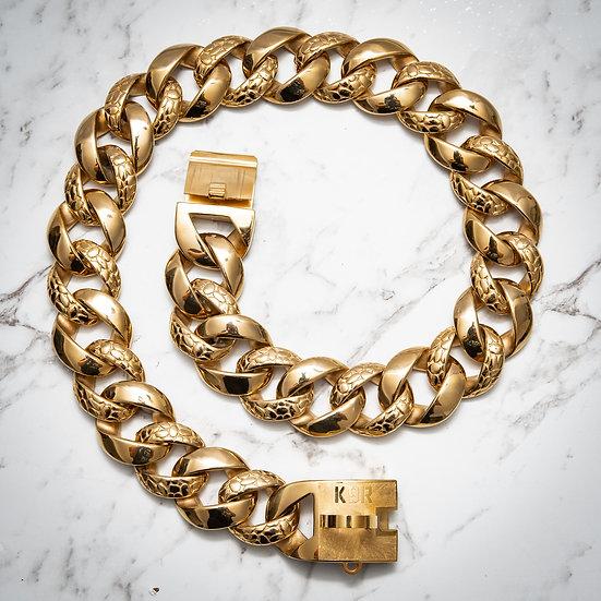 PYTHON Chain Collar - Seen 1st in Australia