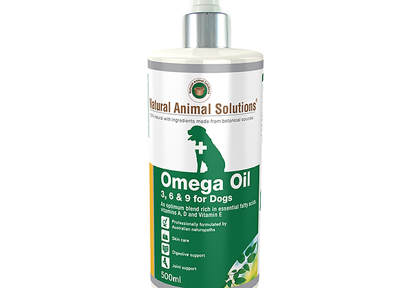 NAS OMEGA OIL 3,6,9 for DOGS 500ML