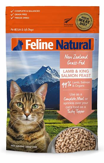 FELINE K9 Natural Lamb + Salmon 340g (Makes 1.5 kilos)