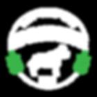 K9RAWSOME WHITE GREEN LEAVES TRANSPARENT