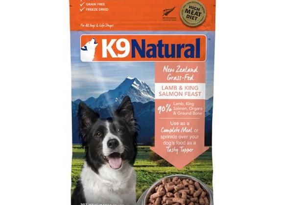 K9 Natural SALMON + LAMB 500g (Makes 2 kilos))