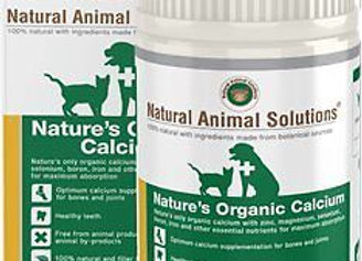 NAS Organic Calcium 200g -All Life Stages