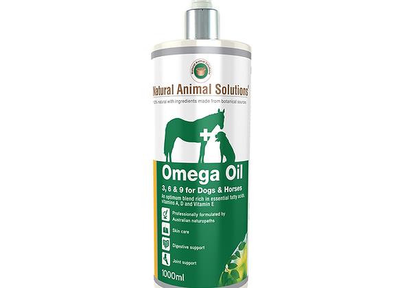 NAS OMEGA OIL 3,6,9 for DOGS + HORSES