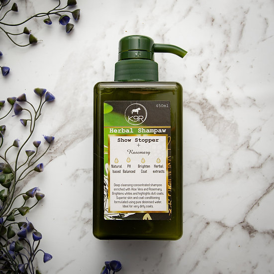 Shampoo Herbal - Show Stopper + Rosemary 450ml