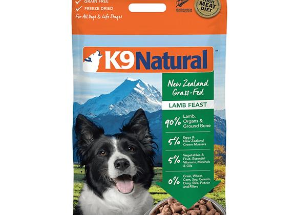 K9 Natural LAMB 500g (Makes 2 kilos)