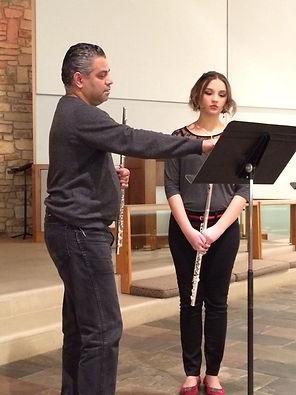 Nicolas Real Flute Teacher