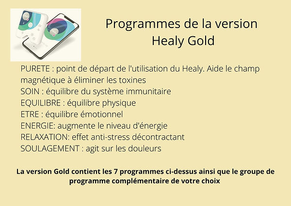 Healy Holistic promotion