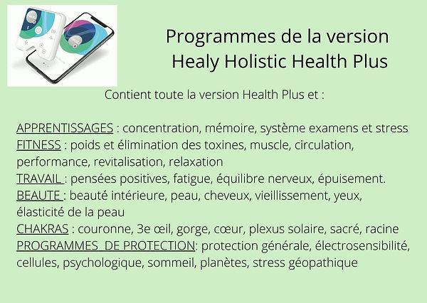 Healy Holistic Health PLus