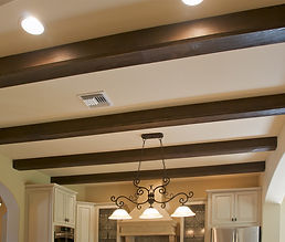 faux beam ceiling remodeling in stafford virginia