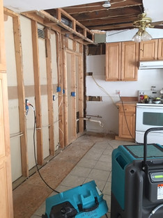Before - After water mitigation