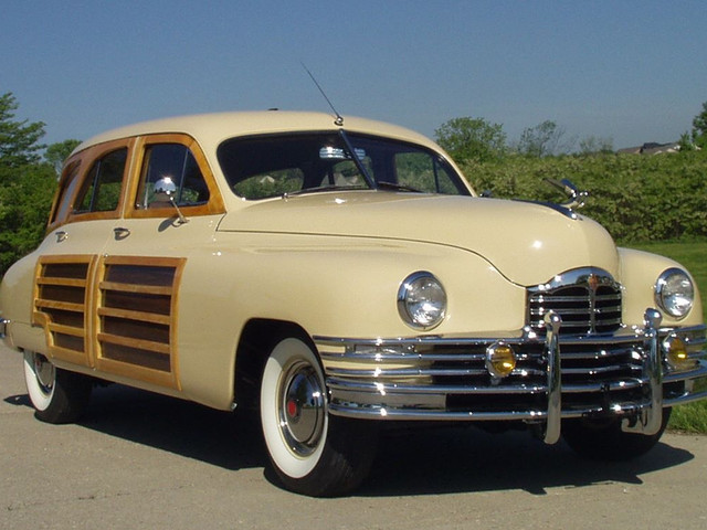 1950 PACKARD WOODY WAGON