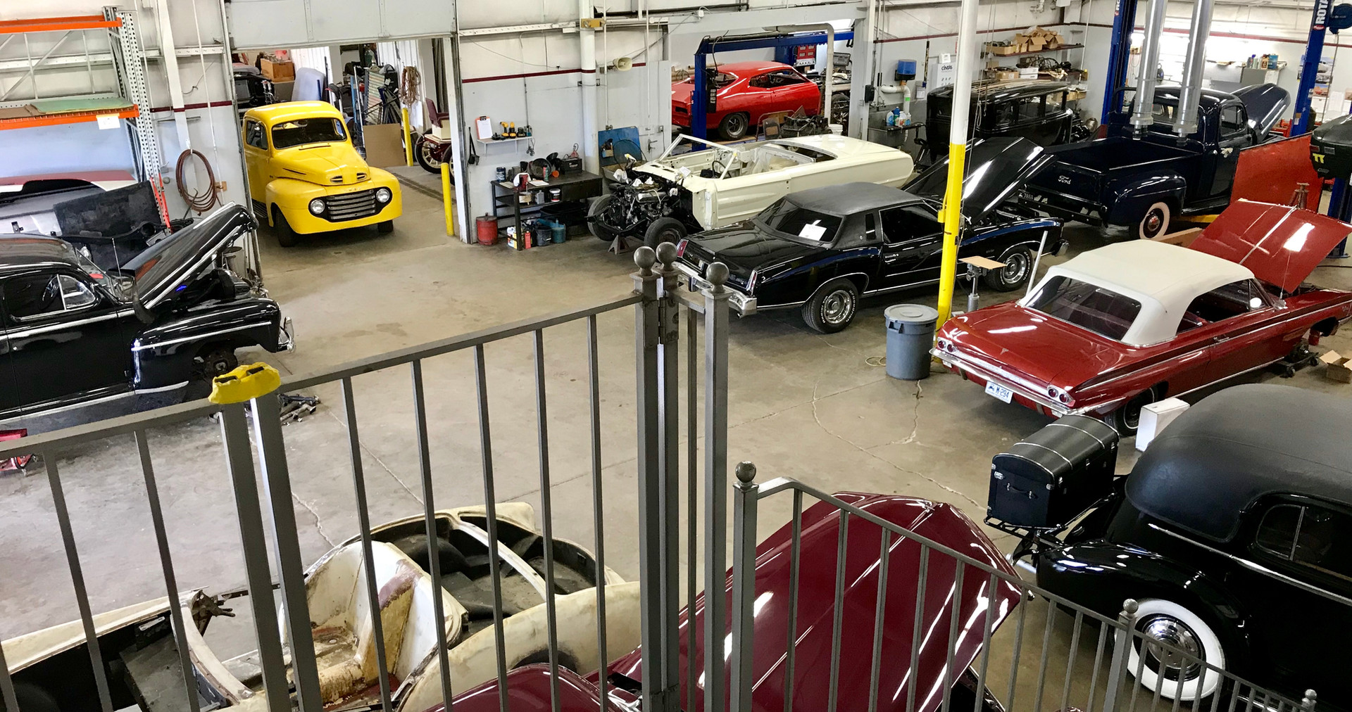 Our clean, 15,000 sq ft facility can handle all of your mechanical and restoration needs.