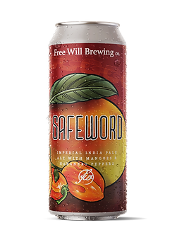 Safeword - Imperial IPA with Mangoes and Habanero Peppers