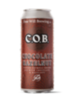 Chocolate Hazelnut C.O.B. - Coffee Oatmeal Brown Ale with Chocolate and Hazelnut