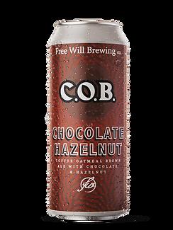Chocolate Hazelnut C.O.B. - Coffee Oatmeal Brow Ale with Chocolate and Hazelnut