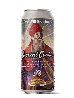 Special Cookie - Imperial Spiced Brown Ale with Cardamom, Brown Sugar, Cinnamon, Ginger, and Vanilla