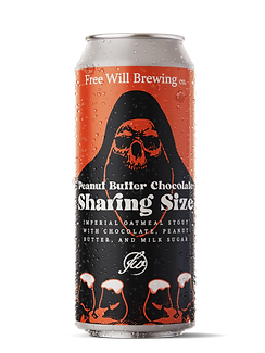 Peanut Butter Chocolate Sharing Size - Imperial Oatmeal Stout with Chocolate, Peanut Butter, and Milk Sugar