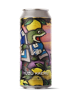 Yuzu Kaeru - Pale Lager with Yuzu and Hibiscus