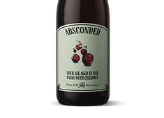 Absconded - Sour Ale Aged in Oak Casks with Cherries
