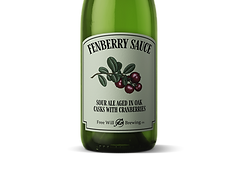 Fenberry Sauce - Sour Ale Aged in Oak Casks with Cranberries