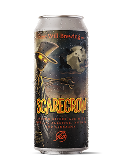 Scarecrow - Autumn Spiced Ale with Vanilla, Allspice, Nutmeg, and Cinnamon