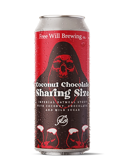 Coconut Chocolate Sharing Size - Imperial Oatmeal Stout with Coconut, Chocolate, and Milk Sugar