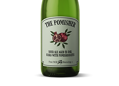 The Pomisher - Sour Ale Aged in Oak Casks with Pomegranates