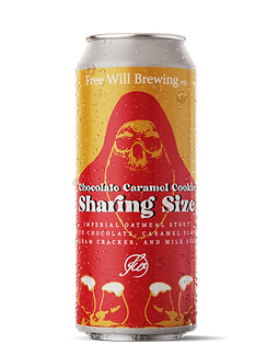 Chocolate Caramel Cookie Sharing Size - Imperial Oatmeal Stout with Chocolat, Caramel, Graham Cracker, and Milk Sugar