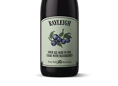Rayleigh - Sour Ale Aged in Oak Casks with Blueberries