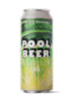Pool Beer - Cream Ale with Makrut Lime Leaves and Key Limes