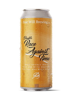 DDH Race Against Time - Hazy Double IPA with Oranges, Vanilla, and Milk Sugar