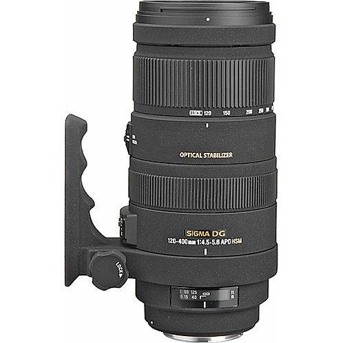 Sigma 120-400mm  f4.5-5.6 APO OS HSM - Canon