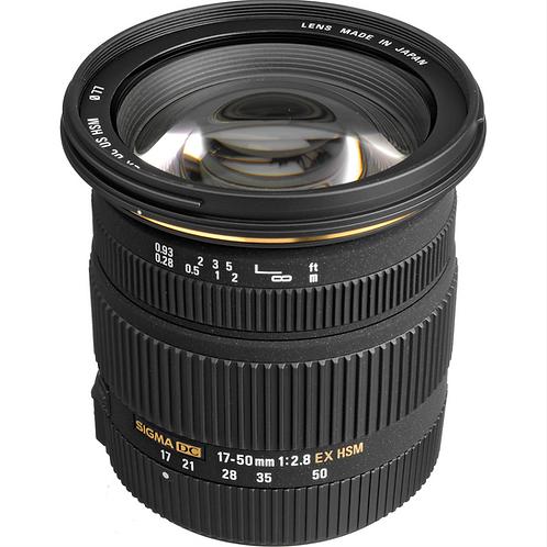 Sigma 17-50 F2.8 EX OS HSM Nikon mount