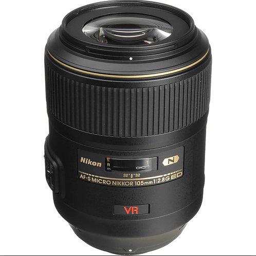 Nikon 105mm f2.8 VR ED AF-S G Macro lens