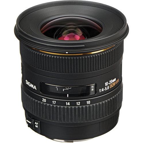 Sigma 10-20mm f4-5.6 EX DC HSM- Canon