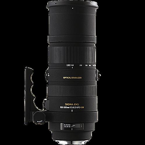 Sigma 150-500mm f5-6.3 APO DG OS HSM - Nikon
