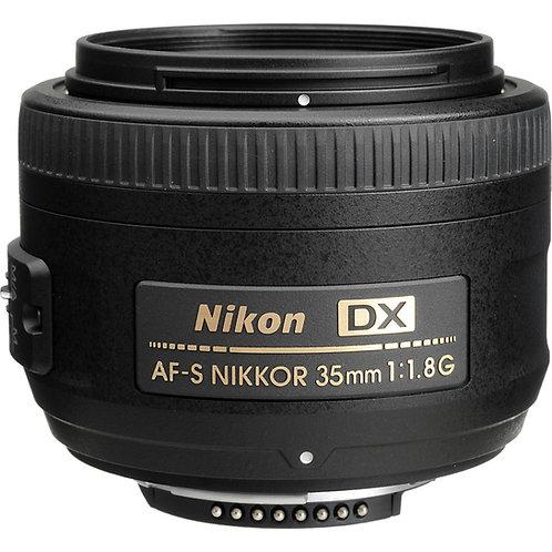 Nikon 35mm f1.8G AFS DX