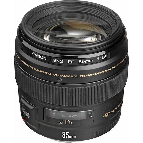 Canon 85mm f1.8