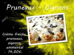 Oignons - Pruneaux