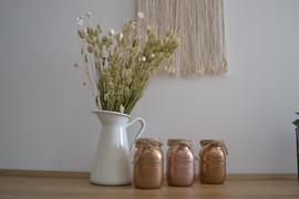 Vases couleurs personnalisables