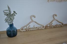 Ceintres Monsieur Madame