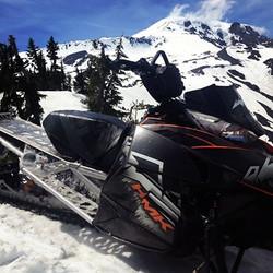 snowmobile+mt+adams
