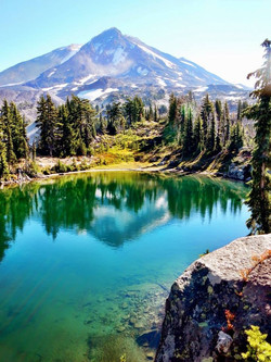 Secret Lake on Mt. Adams