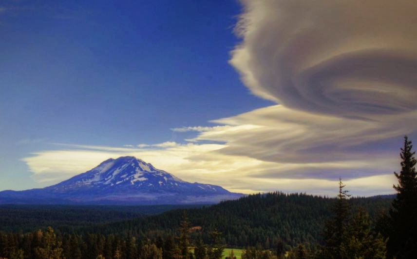 Mt. Adams Lenticular Clouds