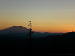 Mt. St. Helens Sunset