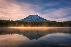 Mount Adams from Takhlakh Lake